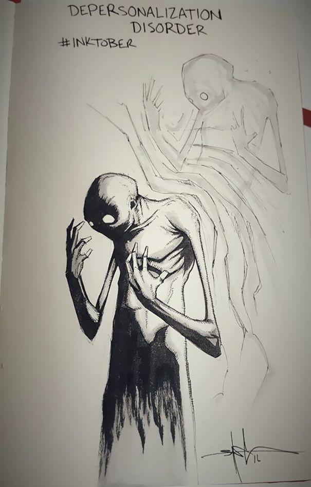 De nos jours encore, certaines maladies mentales sont considérées comme tabou. Plutôt que de faire de longs discours pour en parler, Shawn Coss, un illustrateur américain, a préféré dessiner. Et ses &oe...