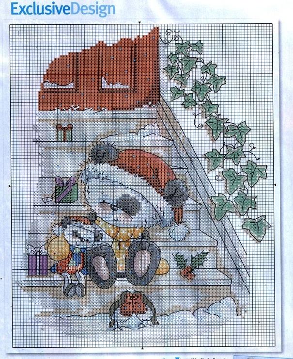 Gallery.ru / Фото #6 - cross stitch graphics - pontodecruz15
