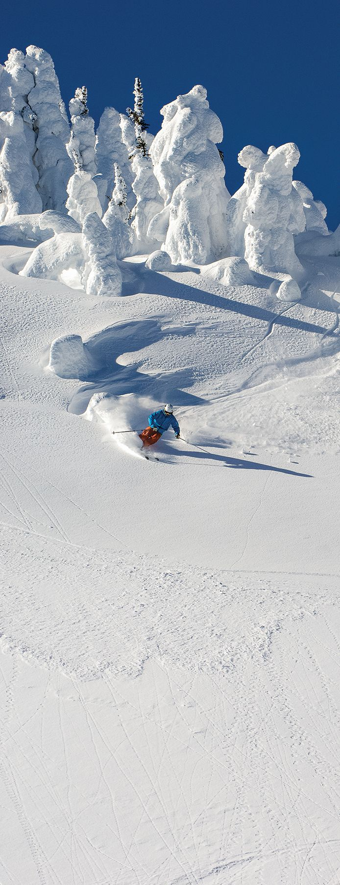More interested in skiing killer terrain with your family than focusing on your flask? Then check out this ski resort.