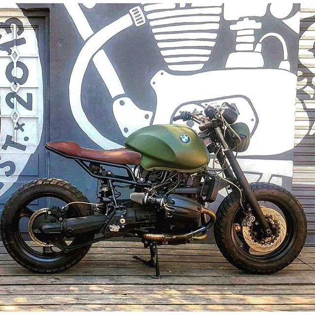 Scrambler monday! ️ BMW R1100R by @customscalifornia  #scrambler #bonesheart #custombuilder ...