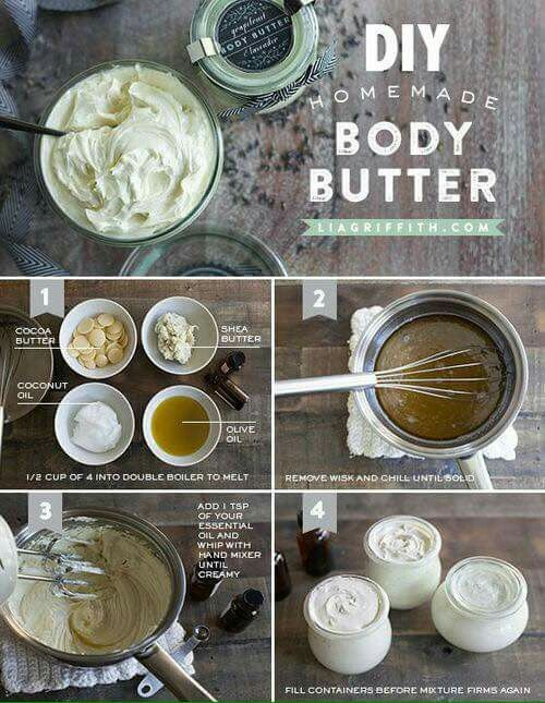 DIY body butter                                                                                                                                                                                 More