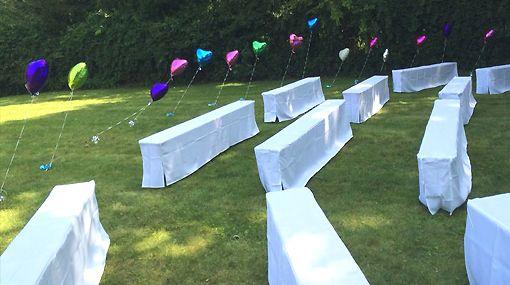 Perfect Wedding! Summer - Sunshine and Balloons!