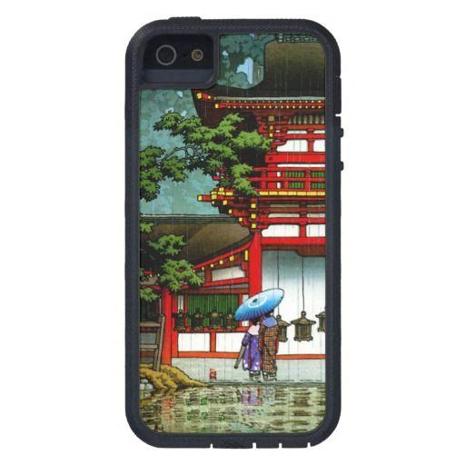 SOLD! - Kasuga Shrine Nara Hasui Kawase shin hanga iPhone 5C Case iPhone 5 case Tough Xtreme #nara #shrine #kasuga #hanga #kawase #japanese #art #iphone #case #apple #cover #gift