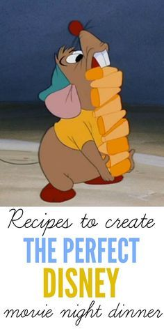 7 Mouth-Watering Recipes for the Perfect Disney Movie Night!! #disney #movie