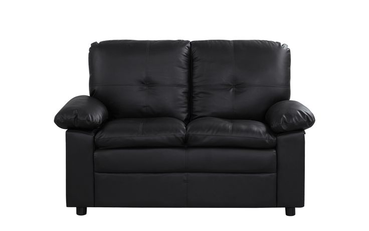 Joseph Classic Faux Leather Loveseat