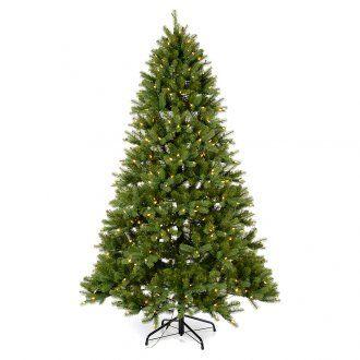 Albero di Natale 210 cm Poly verde memory shape luci Bluetooth | vendita online su HOLYART