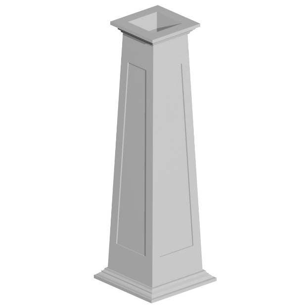 Best 25 column wrap ideas on pinterest porch column for Fypon pvc column wraps