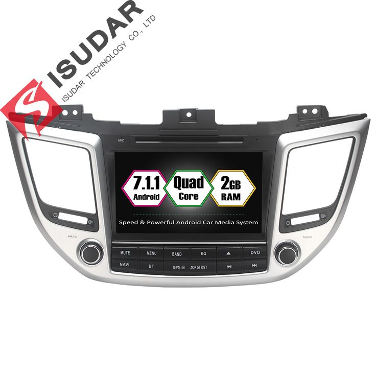 Android 7.1.1 Two Din 8 Inch Car DVD Player For Hyundai/IX35/TUCSON 2015 2016 2017 With Canbus 2GB RAM GPS Navigation Radio WIFI //Price: $527.65 & FREE Shipping //     #audio