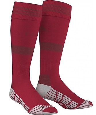 New Adidas FC Bayern Munich Home 2016 Kids Football Socks - Red Sz UK 2-3 Boys