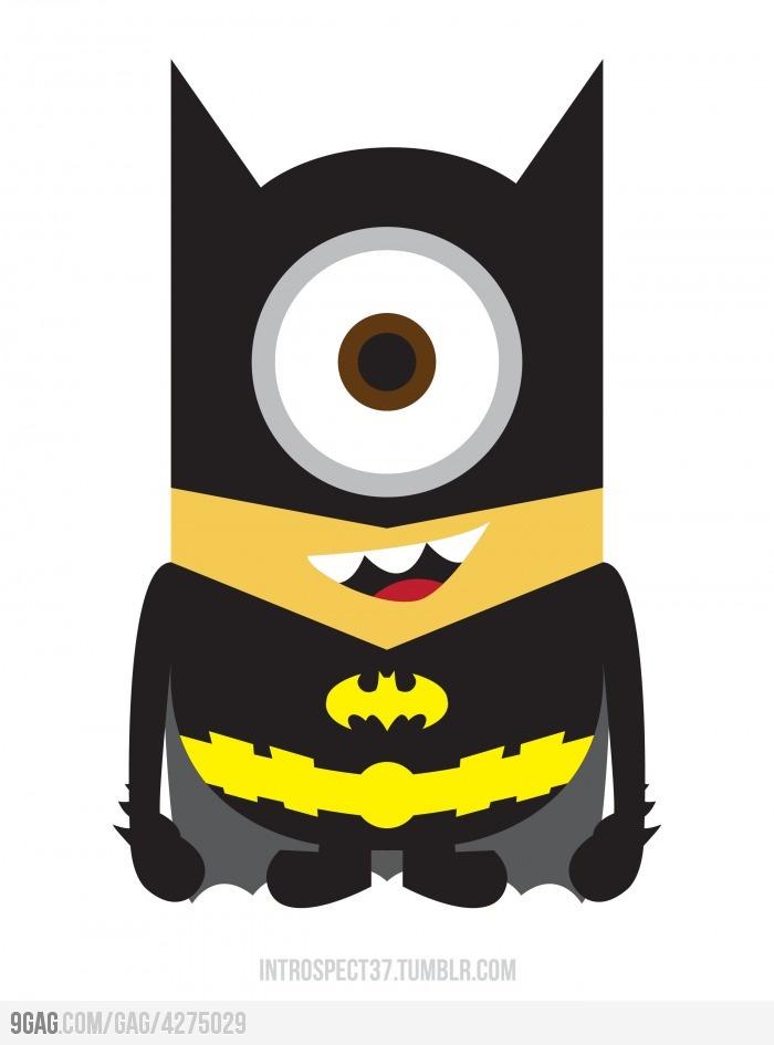 NA-NA NA-NA NA-NA minion!!!!!: Minions Love, Batminion, Real Life, Favorite Things, Superheroes, Despicable Me, Super Heroes, Minions Batman, Batman Minions