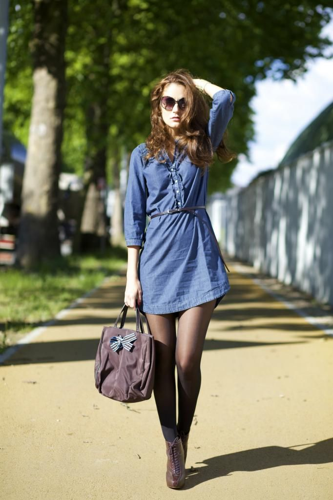 From Brussels, with love ♥: Chambray See more at www.verysimple.it