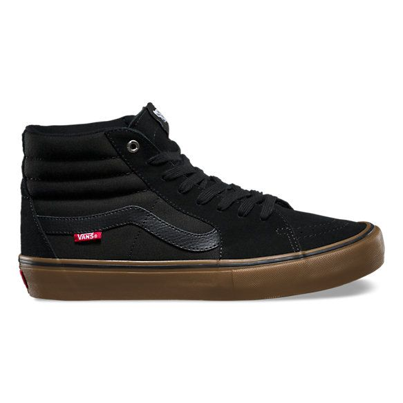 The Sk8-Hi Pro, a Vans classic upgraded for enhanced performance, features suede and canvas uppers, single-wrap foxing tape, UltraCush™ HD sockliners to keep the foot close to the board while providing the highest level of impact cushioning, and Vans original waffle outsoles for superior grip and control. The Sk8-Hi Pro also includes Duracap™ reinforcement rubber underlays in high wear areas for unrivaled durability.