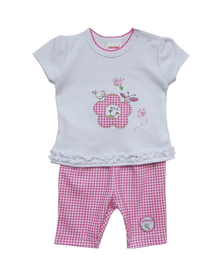 Σετ bebe Μπλούζα μακό-Παντελόνι καρό | Poulain.gr