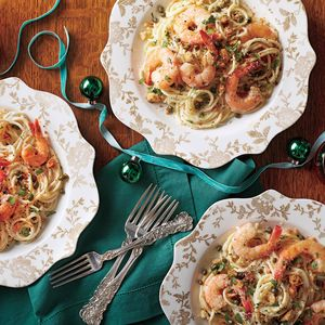 Creamy Shrimp Piccata Recipe - Excellent! Do not skip the breadcrumbs! They add great texture!