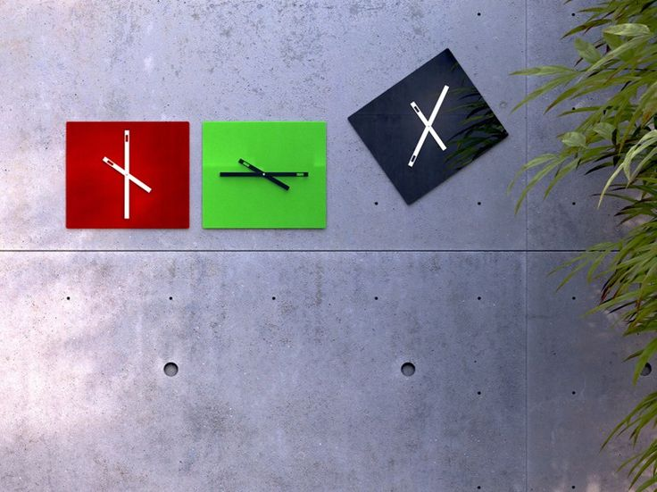 Design wall-mounted clock TEMPORIA - ANB art & design