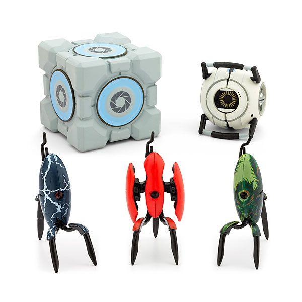 Toys For Geeks : Portal blind box turrets thinkgeek pinterest