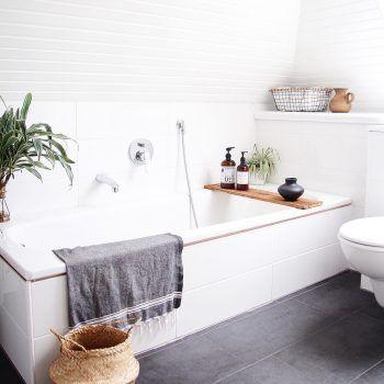 Ein neues Badezimmer muss nicht teuer sein I So kann man das Badezimmer selbst renovieren und Geld sparen I Tipps & Tricks