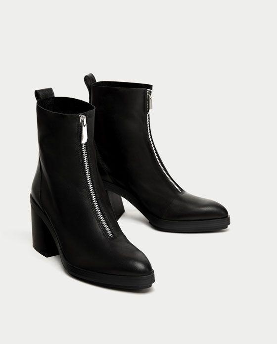 8bad260a3434 BOTÍN TACÓN PIEL CREMALLERA   HACER BOTAS Y ZAPATOS   Pinterest   Boots,  Shoes und Shoe boots