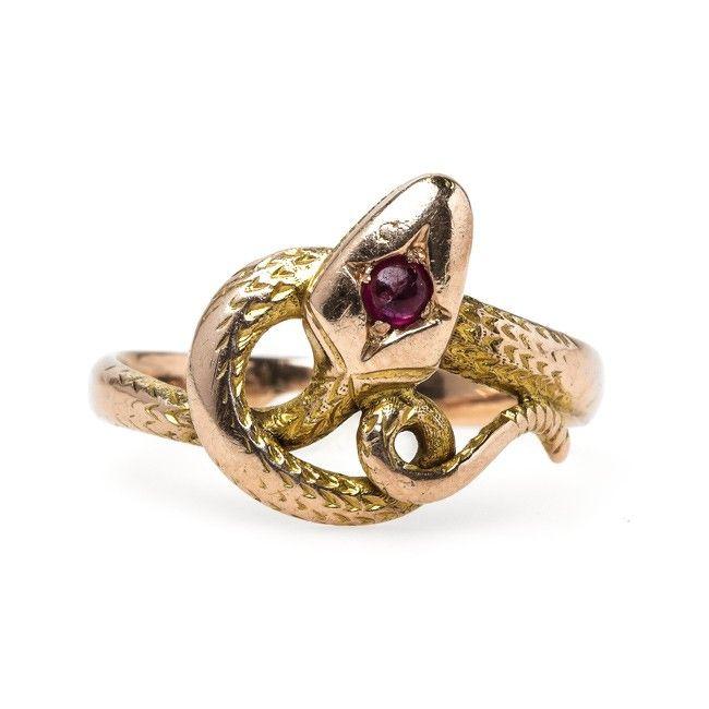 99 best snake rings images on snake ring