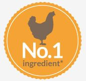"*Chicken is the collective no. 1 ingredient in Salters dog food, apart from Senior which deliberately contains lower protein. Every UK dog food manufacturer is required by law to list their ingredients in order of the highest %. However, when you look at our ingredients more closely you can see we have listed ""Chicken"" on 3 occasions: Chicken Meat Meal, Chicken and Chicken Fat. Collectively, when we add all the chicken together this is the highest % of ingredients in our dog food."