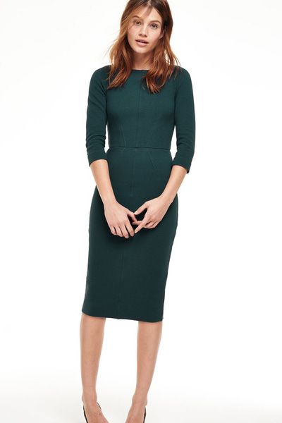 Aurelia Ottoman Dress Seaweed, £66.75 (was £89)