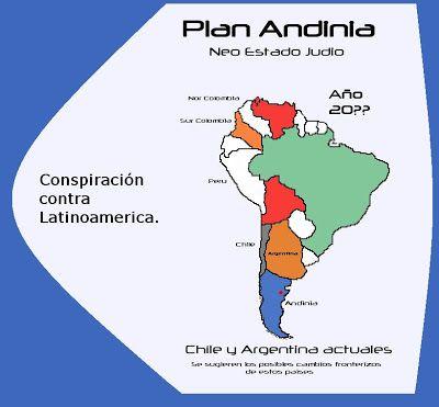 Se Acelera El Plan Andinia.