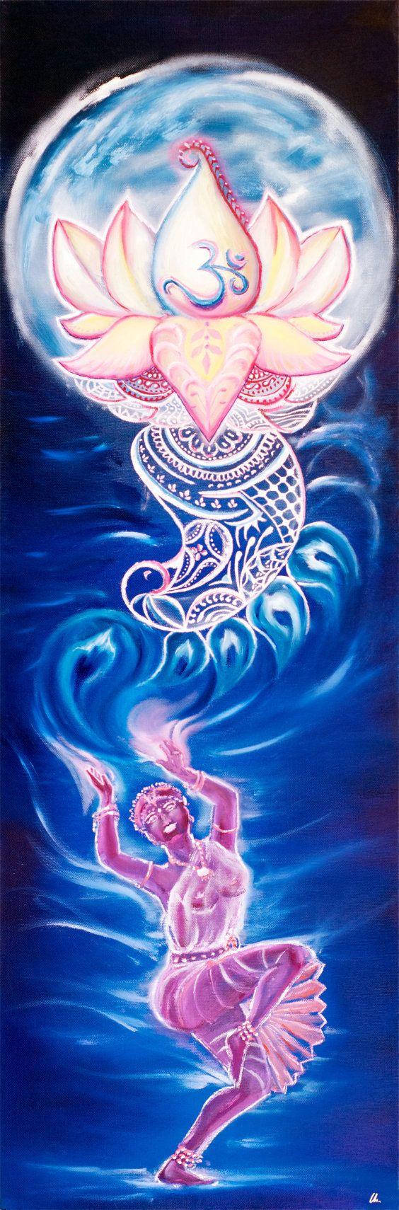 Nitya  Lotus Moon Dancer Series by MissSharda on Etsy