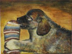 Leonberg ja sukka, 120 €