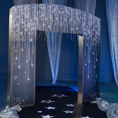 Underneath the Diamond Stars Arch Kit
