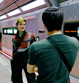 Thomas Sangster  - The Death Cure B- Roll