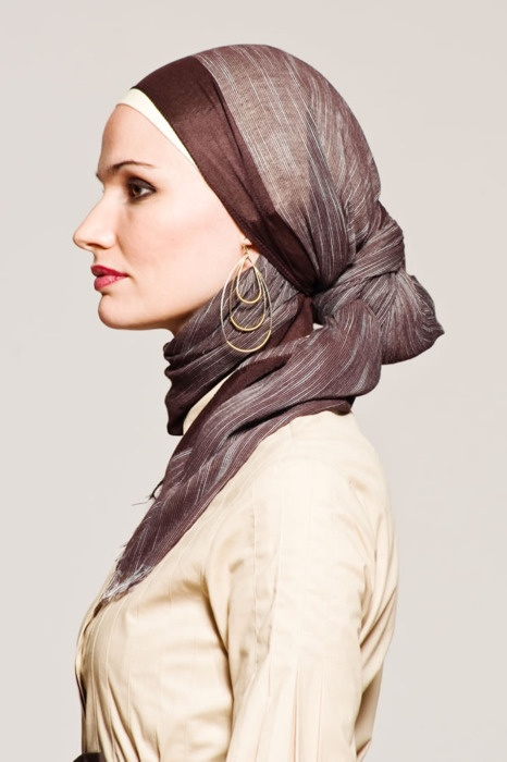 hijab/hajib  not sure of the correct spelling in (english)  This is really well done and attractive.