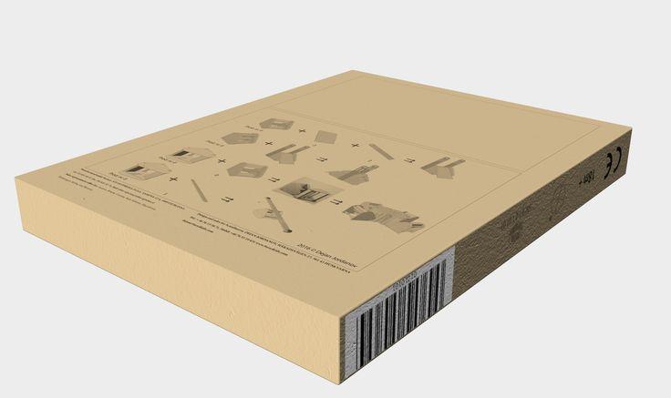 Package; Versatile children furniture for ages 1-8. author: Dejan Jordanov, 2014