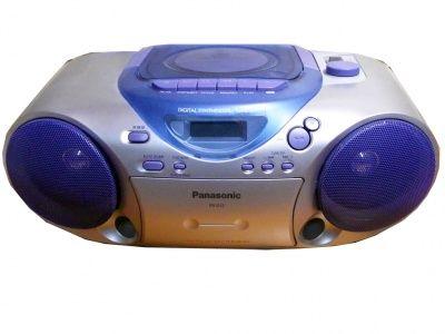 Vendita di prodotti nuovi. Rivendita di articoli usati - STEREO PORTATILE HIFI CD RADIO CASSETTE PANASONIC RXD 12 USATO PERFETTO ORIGINALE USED PERFECT ORIGINAL