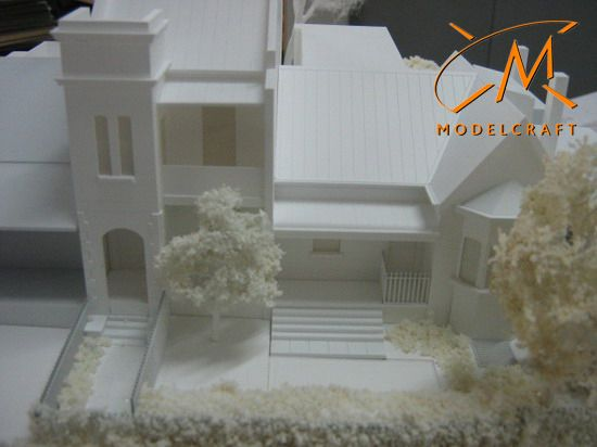 1:100 White Architectural Model by Modelcraft (NSW) Pty Ltd