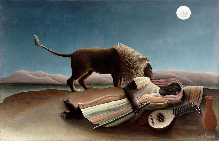 Henri Rousseau - La zingara addormentata - Henri Rousseau - Wikipedia