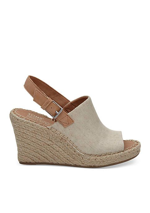 f198c9e781c61 TOMS® Monica Rope Wedge Sandal in 2019 | Fashion | Wedge sandals ...