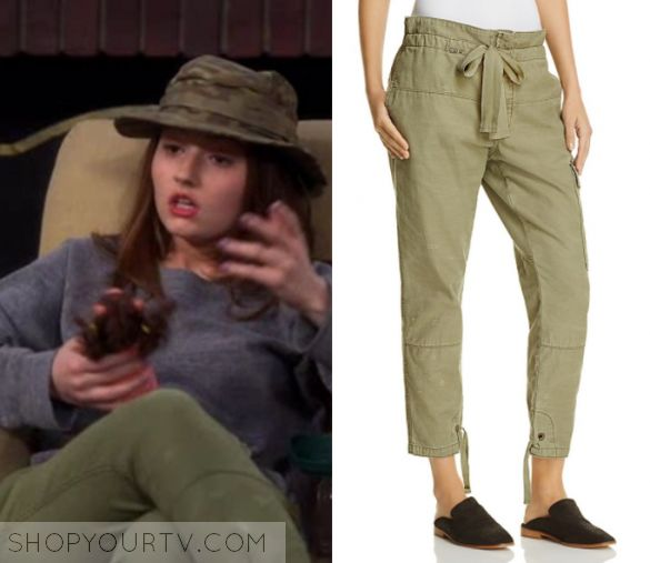 """Last Man Standing: Season 6 Episode 17 Eve's Khaki Green Cargo Pants 