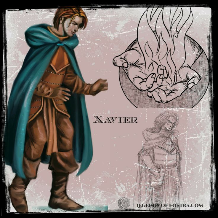 Xavier of the Fire People.  See his character drawing development.  #motherearth #fantasy #auslit #easter #vernalequinox #YABook