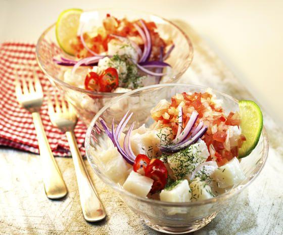 Ceviche: Leckere Low-Carb-Alternative zu Sushi - kochbar.de