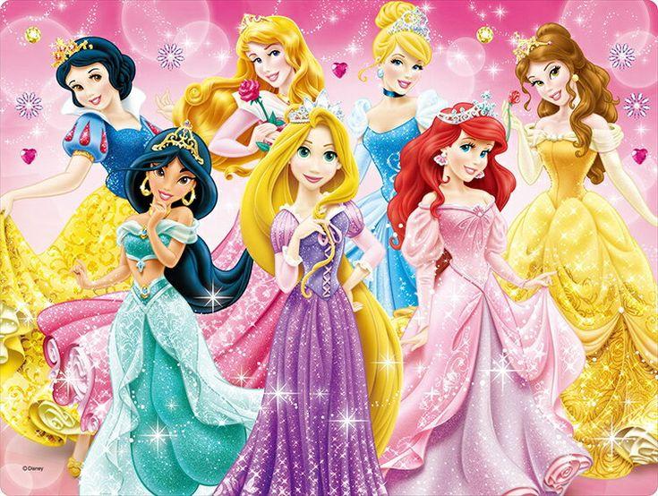 Ten Dl63 670 ディズニー プリンセスがいっぱい レンチキュラー 63