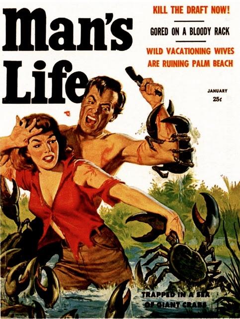 1958 Man's Life cover