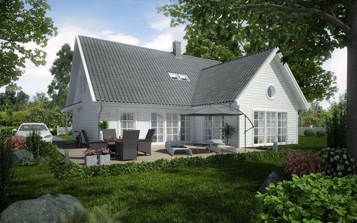 Den stora barnfamiljens dröm Moderna Villa Sjövik har en spännande karaktär, inte minst tack vare den läckra entréfasaden och vardagsrummet i vinkel med tjusigt ryggåstak.Av vinkeln får du dessutom en skyddad uteplats. Den öppna och ljusa planlösningen i vardagsrum och kök gör det enkelt att samsas många under samma tak. …