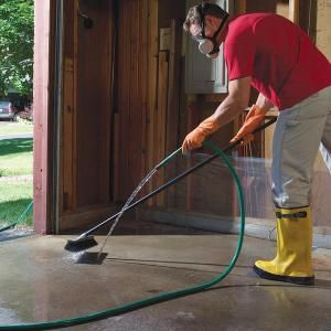 Removing Oil, Paint and Other Concrete Stains