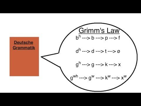 Grimm's Law. The story of the first sound change discovered by modern linguistics.