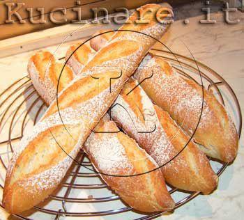 Baguette (con poolish) - Ricetta di kucinare.it per kucinare.it