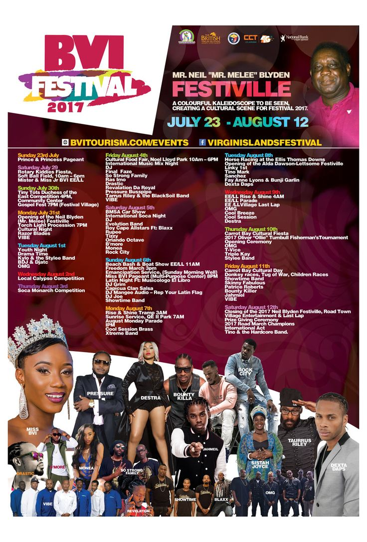 The BVI Emancipation Festival is still on for a few more days.... Check out whats happening here!  #emancipationday #emancipation #emancipationfestival #festival #fun
