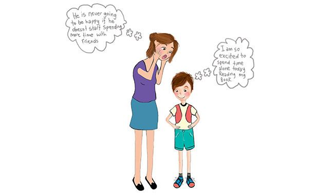 Are you fears affecting your child.  Find out how you can really make them happy.