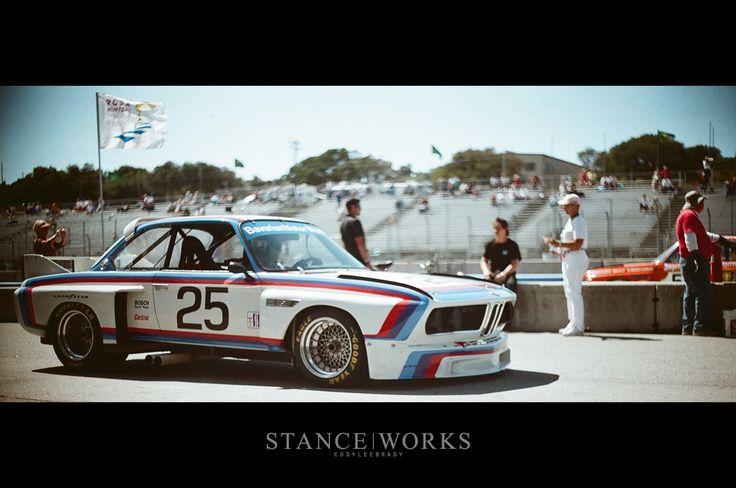 The #25 BMW E9 CSL