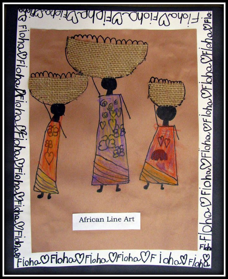 Best 25 line art projects ideas on pinterest line art for African arts and crafts history