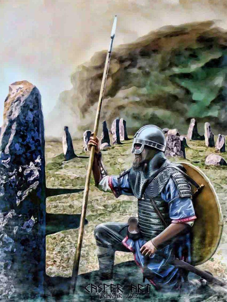 Viking Egil Sterkr by thecasperart.deviantart.com on @deviantART